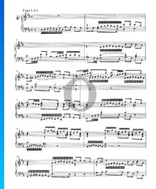 Fugue 5 Ré Majeur, BWV 850
