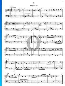 Menuet G-Dur, BWV Anh. 116