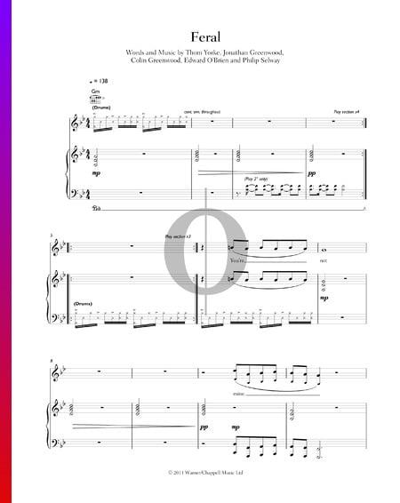 Feral Musik-Noten