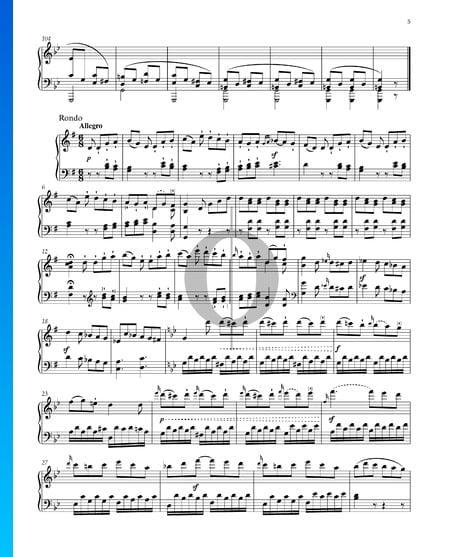 Sonate facile, Op. 49 No. 1: 2. Rondo Partition