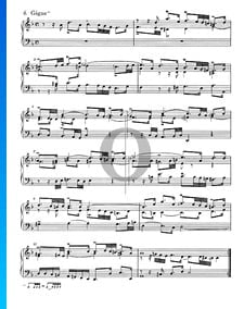 French Suite No. 1 D Minor, BWV 812: 6. Gigue
