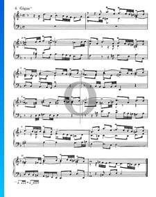 Suite Française No. 1 Ré mineur, BWV 812: 6. Gigue