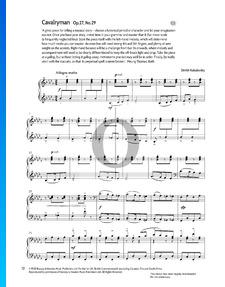 Kavallerie, Op. 27 Nr. 29