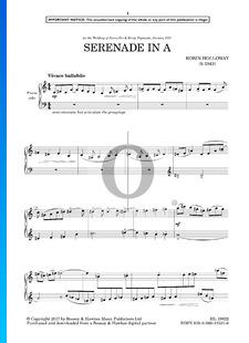 Serenade In A