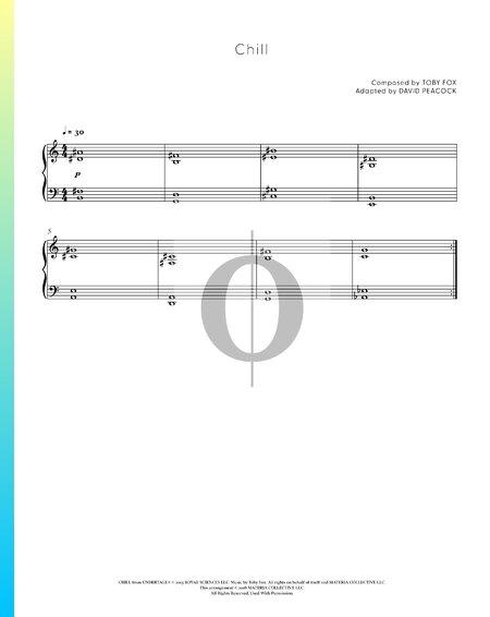 Chill Musik-Noten