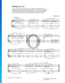 Rocking, Op. 117 Nr. 6