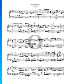 Sinfonia 14, BWV 800