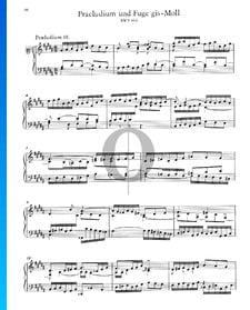 Preludio 18 en sol sostenido menor, BWV 863