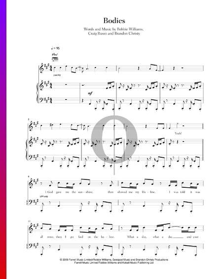 Bodies Musik-Noten