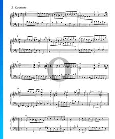 Französische Suite Nr. 3 h-Moll, BWV 814: 2. Courante