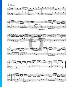Suite No. 2 en Fa Majeur, HWV 427: 2. Allegro