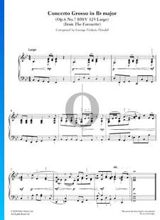 Concerto Grosso in B-flat Major, Op. 6 No. 7, HWV 325: 1. Largo