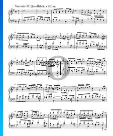 Goldberg Variations, BWV 988: Variatio 30. Quodlibet. a 1 Clav.