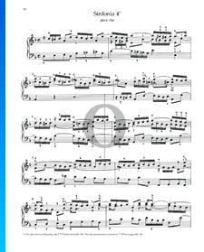 Sinfonia 4, BWV 790