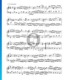 Suite inglesa n.º 2 en la menor, BWV 807: 3. Courante