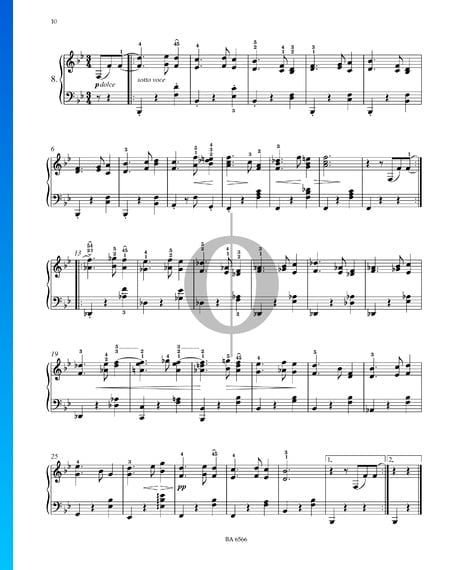 Sixteen Waltzes, Op. 39 No. 8 Sheet Music
