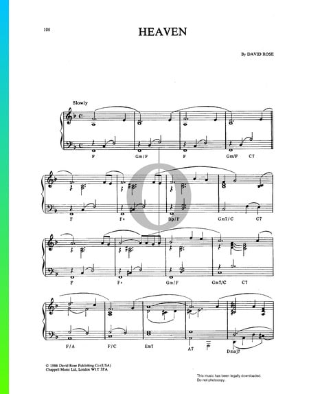Highway To Heaven Sheet Music