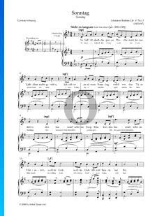 Sonntag, Op. 47 Nr. 3
