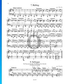 Saebygga (Die Frau aus Setesdal), Op. 17 Nr. 21