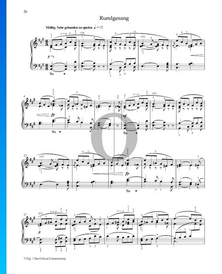 Roundelay, Op. 68 No. 22 Sheet Music