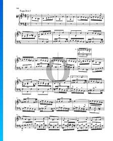 Fugue B Minor, BWV 893