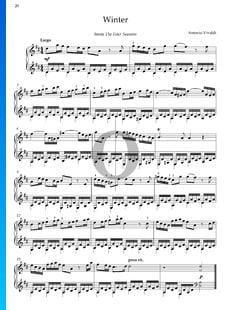 El invierno (L'inverno), Op. 8, RV 297: 2. Largo