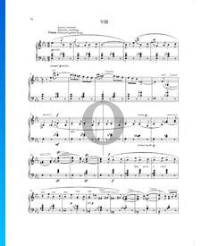 Cosas vividas y soñadas (Životem a snem), Op. 30 n.º 8