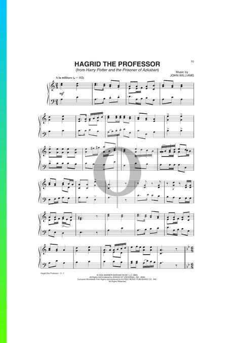Hagrid The Professor Sheet Music