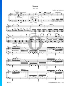 Sonate in As-Dur, Op. 110 Nr .31: 1. Moderato