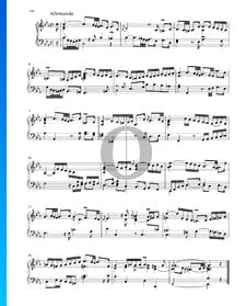 Suite in C Minor, BWV 1011: 2. Allemande