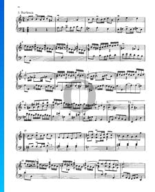 Partita 3, BWV 827: 5. Burlesca