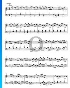 Concierto en sol menor, BWV 975: 3. Giga