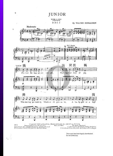 Junior Sheet Music
