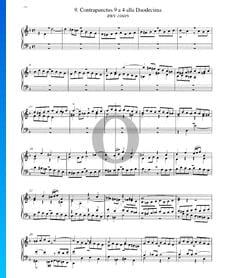Contrapunctus 9, BWV 1080/9