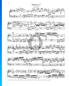 Sinfonia 2, BWV 788