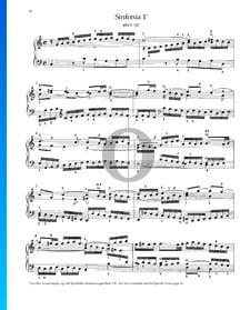 Sinfonia 1, BWV 787