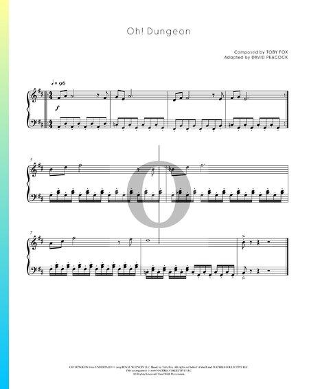 Oh! Dungeon Sheet Music