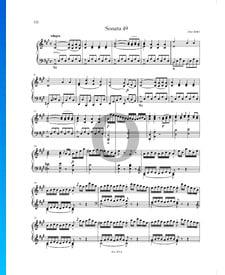 Sonata en la mayor, P. XII: 44: 1. Allegro