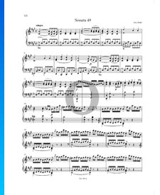 Sonate en La Majeur, P. XII: 44: 1. Allegro