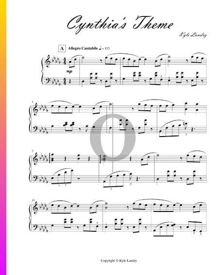 Cynthia''s Theme Sheet Music