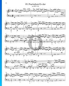 Prélude en Mi bémol Majeur, BWV 998