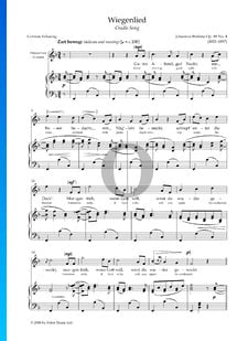 Canción de cuna, Op. 49: n.º 4