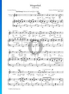 Wiegenlied, Op. 49 Nr. 4