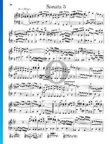 Sonata n.º 5, Wq 48: 1. Poco Allegro
