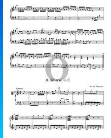 Scherzo in C-Dur, Nr. 31