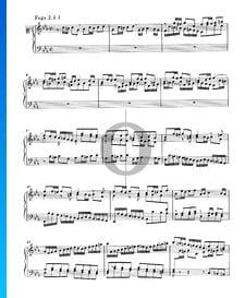 Fugue 2 Do mineur, BWV 847