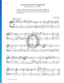 Melodías gitanas, Op. 55, n.º 4.: Canciones que mi madre me enseñó
