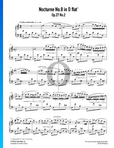 Nocturne No. 8 Ré bémol Majeur, Op. 27 No. 2