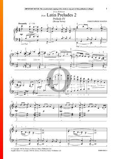 Latin Preludes 2: Prelude 4 (Bossa Nova)