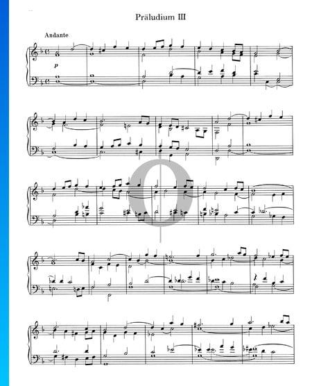 Prelude d-Moll Nr. 3, Op. 16 Musik-Noten